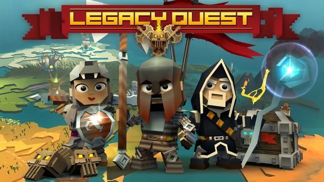 Hack 'n' Slash ลงดัน Legacy Quest เปิดโกลบอลวันนี้ทั้งสองสโตร์