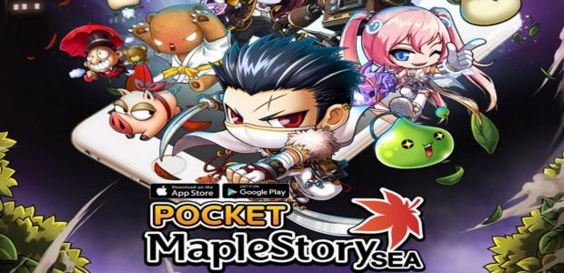 Pocket MapleStory SEA มันส์แบ๊วทะยานขึ้นอันดับ 1 บน App Store