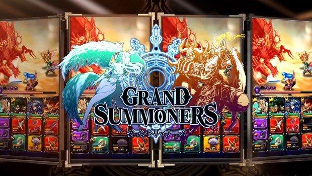 แกะกล่อง Grand Summoners เกมส์มือถือ RPG จากผู้สร้าง Brave Frontier