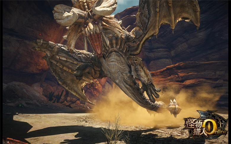 อัพเดท Monster Hunter Online (CN) ปล่อยอสูรยักษ์ Diablos ล้างบางนักล่า