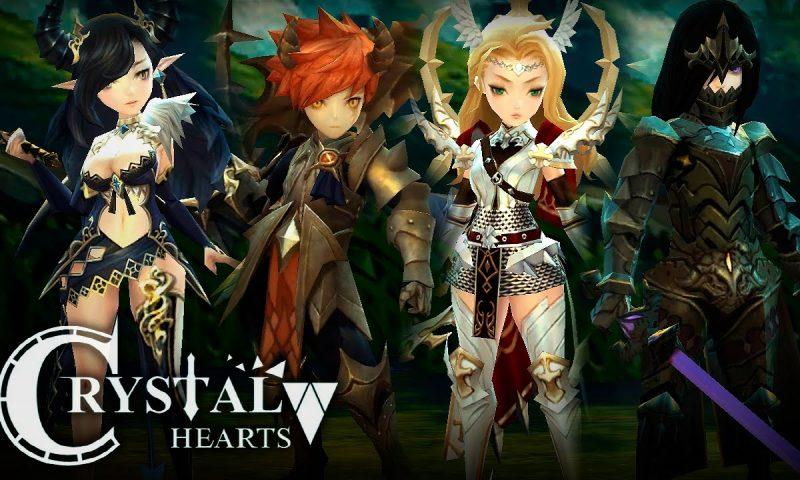 มาแรง Crystal Hearts ยอดโหลดเกิน 2 ล้าน เปิด Early บน iOS แล้ววันนี้