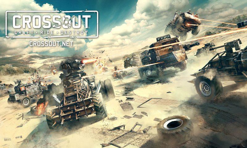 มหาประลัยรถซิ่ง Crossout เกมส์  Survival MMO สุดโหด เปิด CBT วันนี้