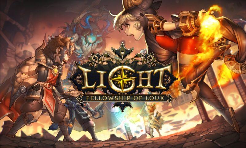 Light: Fellowship of Loux แอพต่อสู้วางแผน RPG มาใหม่จาก Com2us
