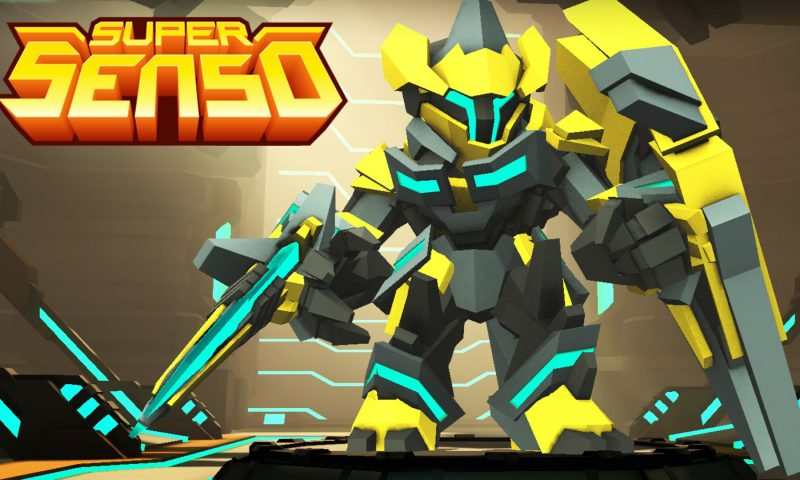 Super Senso เกมส์มือถือวางแผนต่อสู้โดนๆเตรียมเปิดตัวกลางปี 2016 นี้