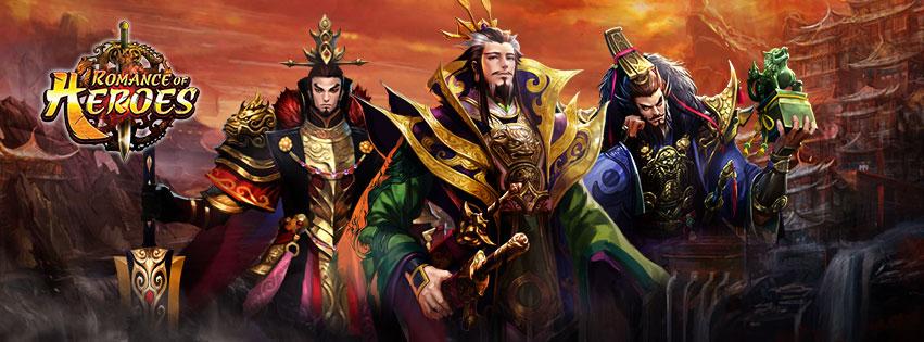 เปิดให้มันส์แล้ววันนี้ Romance of Heroes เวอร์ชั่นไทย