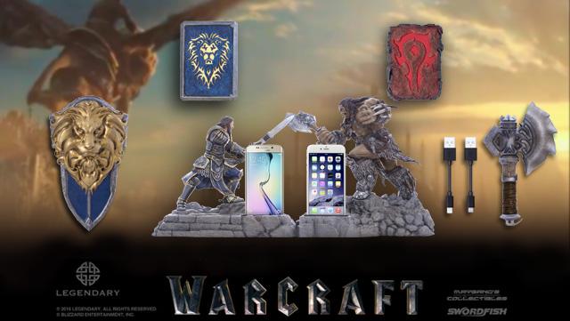 อัพเกรดมือถือด้วย Accessories สุดไฮเทคลิขสิทธิ์แท้ จากหนัง Warcraft