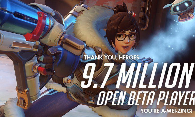 Overwatch ประกาศศักดา ทุบสถิติสูงสุด 9.7 ล้านยูสเซอร์แห่เล่น OBT
