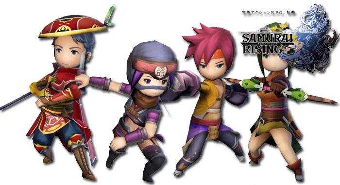 แย้ม 7 คลาสใหม่ Samurai Rising เกมส์แอ็กชั่นฟันแหลก มาแรง
