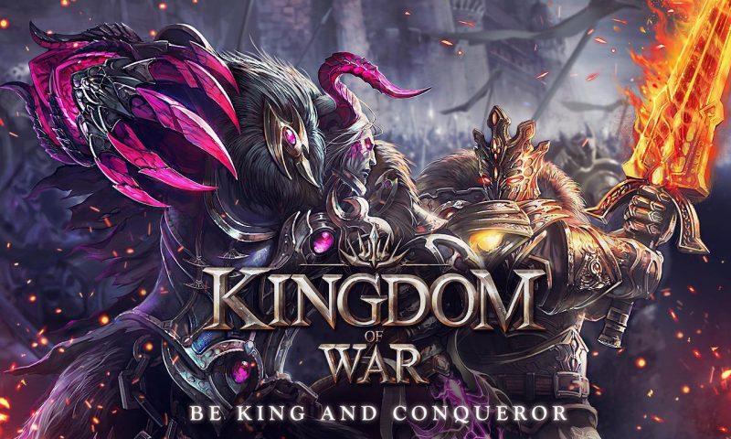Kingdom of War เกมส์มือถือ RPG วางแผนจาก GAMEVIL เปิด Soft Launch แล้ว