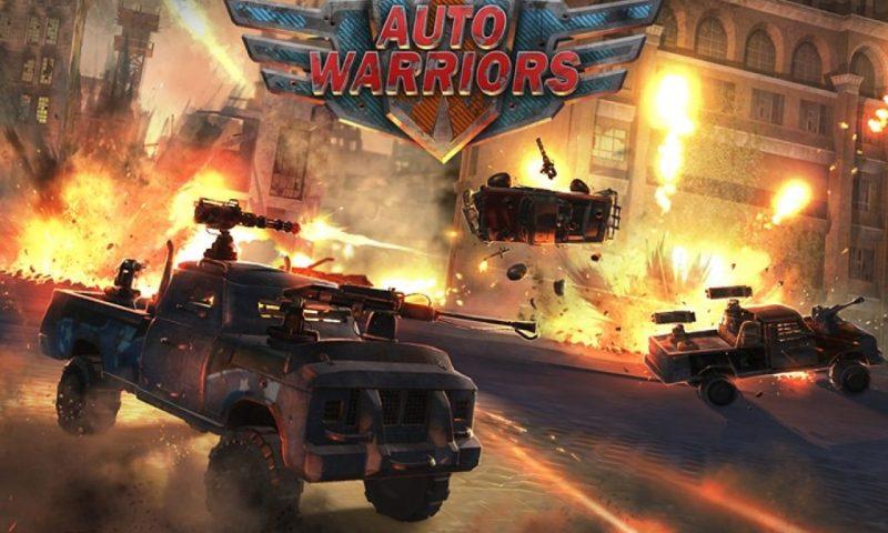 Auto Warriors เกมส์ซิ่งรถต่อสู้วางแผนสุดล้ำ ปล่อยโหลดบน iOS แล้ว