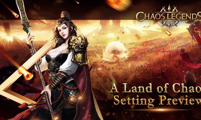 Chaos Legends เกมส์มือถือ RPG คุณภาพ PC ใหม่จาก Snail Games