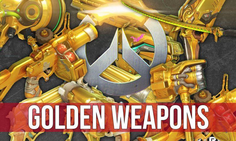 Overwatch เปิดคลัง 26 อาวุธทอง ต้อนรับโหมดสุดมัน Competitive Play