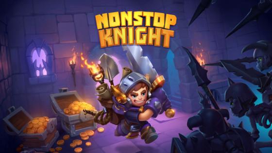 Nonstop Knight เกมส์แอคชั่น RPG สุด Casual เปิดโกลบอลทั้งสองสโตร์แล้ว