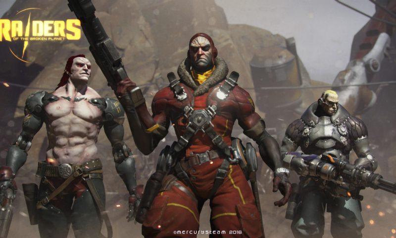 Raiders of the Broken Planet เกมส์ยิงต่อยแหลก ไม่มีระบบจ่ายเงินซื้อของ