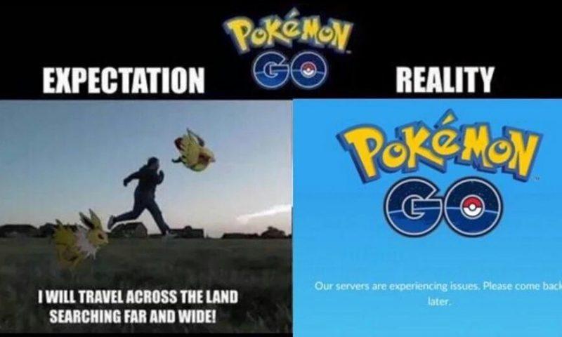 แฟนถล่มเซิร์ฟแตก Pokémon Go งดให้บริการไม่มีกำหนด