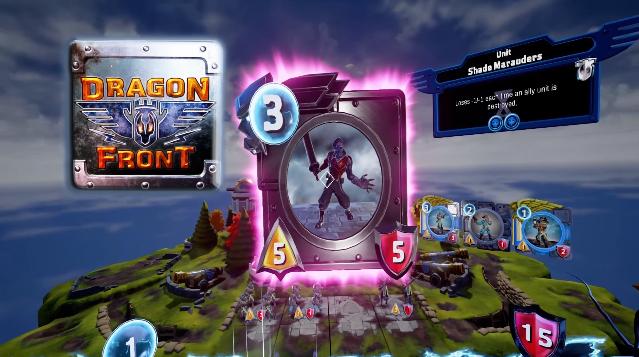 สุดล้ำต้องลอง Dragon Front เกมส์การ์ด VR ตัวแรกของโลก