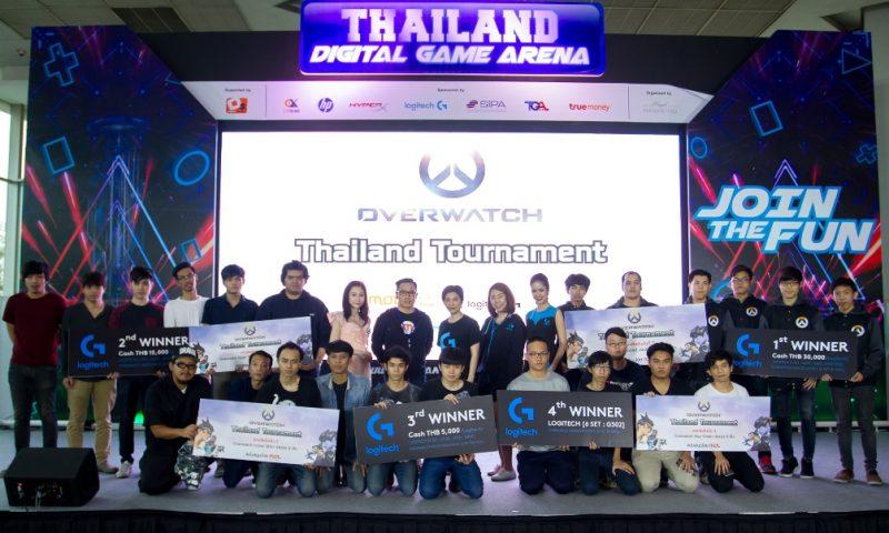 เจ๋งจริง WeedTime คว้าแชมป์รายการ Overwatch Thailand Tournament