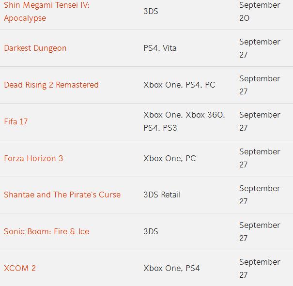 game list 06