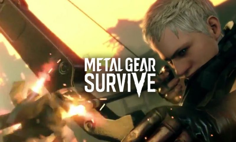 Metal Gear Survive ลากฝูงซอมบี้ชีวะ มาให้ซัดแบบ Co-op