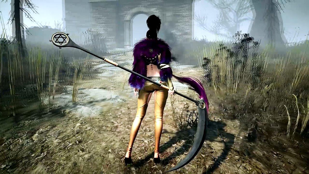 Black-Desert-Sorceress-Scythe 00