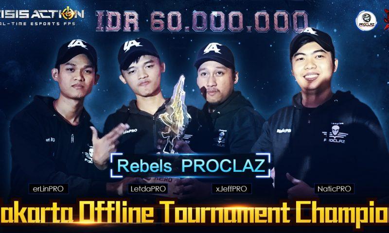 PROCLAZ คว้าแชมป์ Crisis Action ออฟไลน์ทัวร์นาเมนต์รับ 60,000,000 รูเปีย