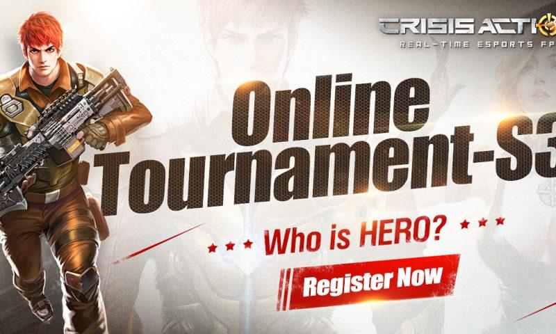 เตรียมลุย การแข่งขัน Crisis Action ซีซั่น 3 ชิงเงินรางวัลกว่า 2,000 ดอลลาร์