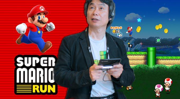 สาวก iOS เฮ Super Mario Run เปิดตัวลง App Store ธ.ค.นี้