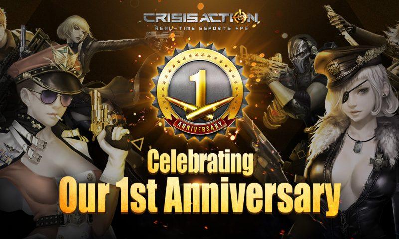 Crisis Action ครบรอบ 1 ปีจัดเต็มโบนัสไม่มีวันสิ้นสุด