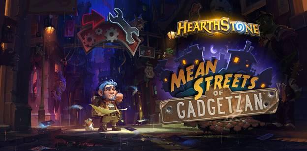 Hearthstone อัพเดทเพิ่มชุดการ์ดใหม่ Mean Streets of Gadgetzan