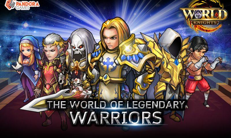 World Knights อัศวินพิชิตโลก เกมส์มือถือ PRG รวมเหล่าฮีโร่จากทั่วโลก