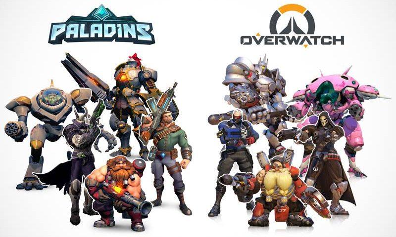 เปิดศึก Paladins -Vs- Overwatch ใครเจ๋งกว่ามีคลิปเฉลย