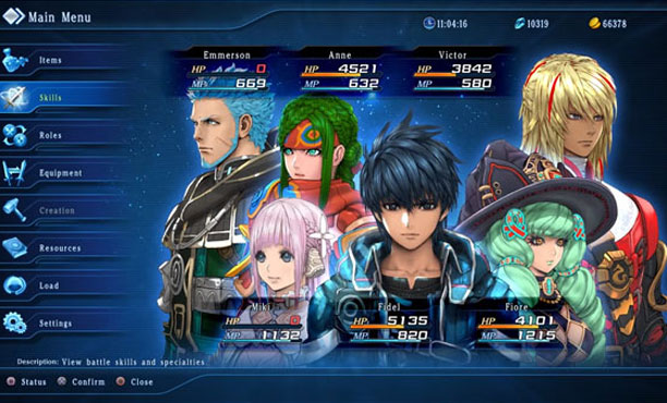 star ocean gameplay 02