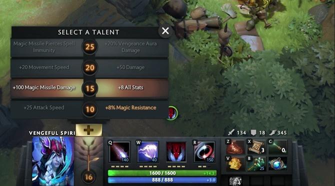 Dota 2 Talent