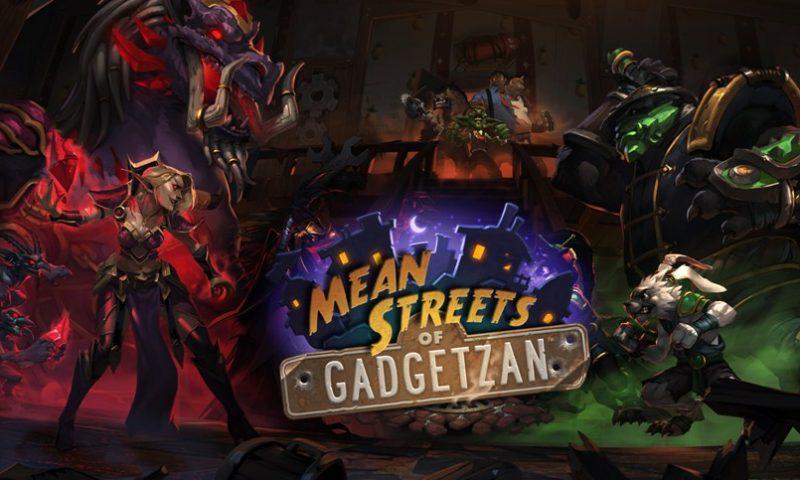 Hearthstone อัพเดทการ์ดชุดใหม่ Mean Streets of Gadgetzan ถนนสายนี้ใครใหญ่