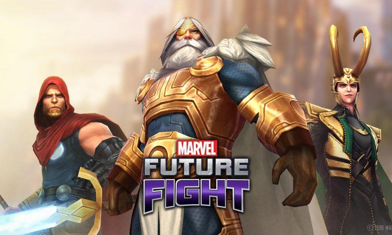 MARVEL Future Fight ขนทัพฮีโร่จากธอร์แห่งแอสการ์ดร่วมทีมเพียบ