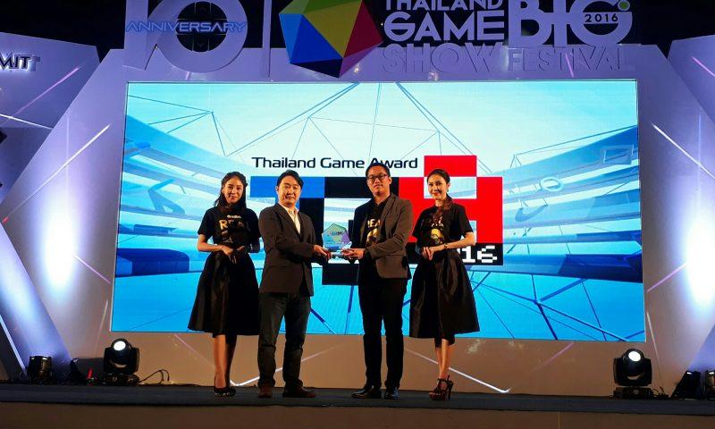 เซเว่นไนท์ คว้ารางวัล Mobile Game of The Year ในงาน TGS 2016
