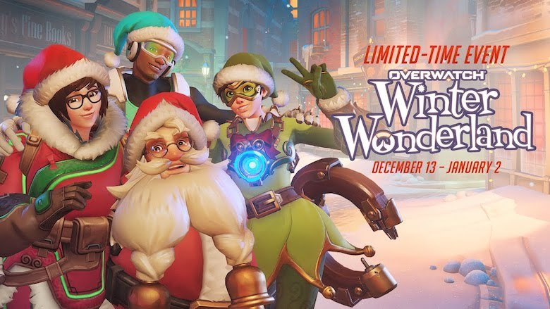 Overwatch อัพแพทช์ Winter Wonderland ของใหม่จัดมาเพียบ