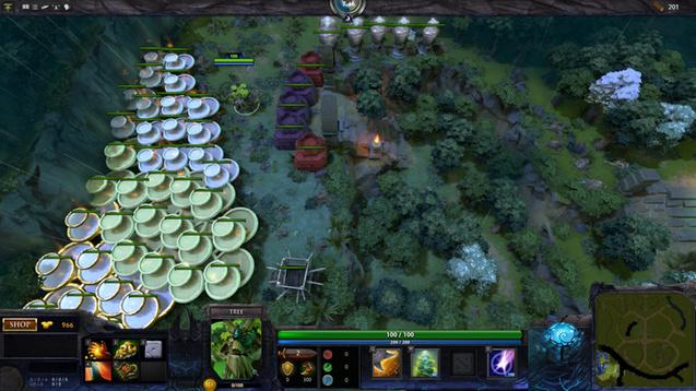 Dota 2 Tree Tag