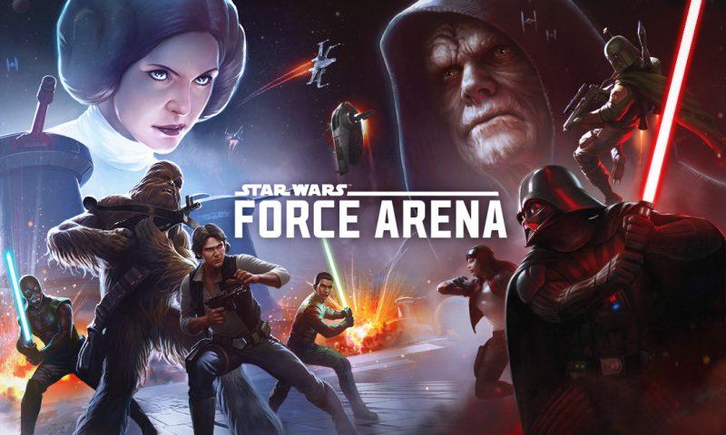 Star Wars™: Force Arena เปิดให้มันส์บนมือถือทั้งสองสโตร์แล้ว