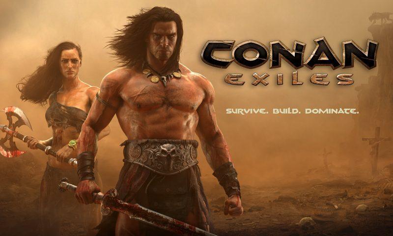 มาเต็ม Conan Exiles โชว์ระบบคราฟติ้ง สร้างตัวละคร ลูกเล่นการสร้างบ้าน