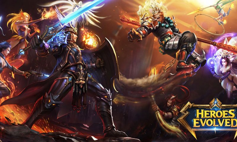 Heroes Evolved เกมส์สุดปังแนว MOBA 5v5 จาก PC ลงมือถือแล้ว