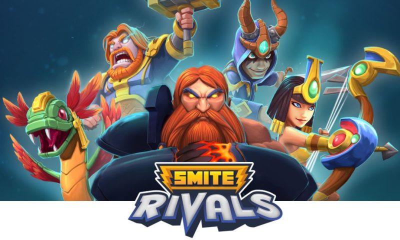 มาใหม่ SMITE Rivals เกมส์ดวลการ์ดแนว MOBA สไตล์ Clash Royale
