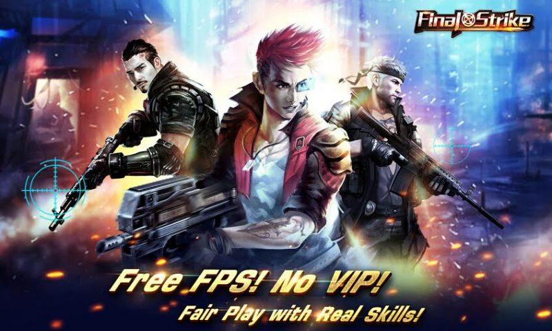 Final Strike เกมยิงมันส์สะใจ ไร้ระบบ VIP