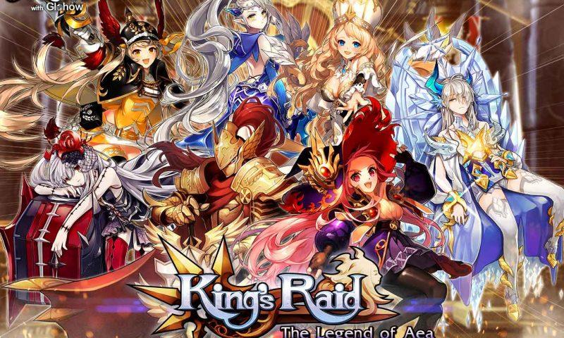 พาส่อง ระบบเกมเพลย์ King's Raid : The Legend of Aea