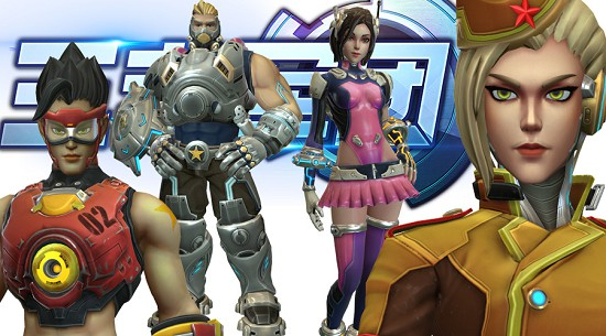 พาส่อง King of Legions เกม Overwatch เวอร์ชั่นมือถือบรรยากาศจีน