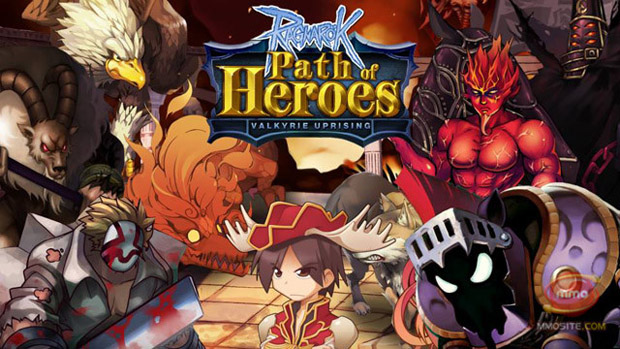 RO: Path of Heroes ปล่อยฮีโร่แมวเหมียวมาช่วยรบบนเซิร์ฟอินเตอร์