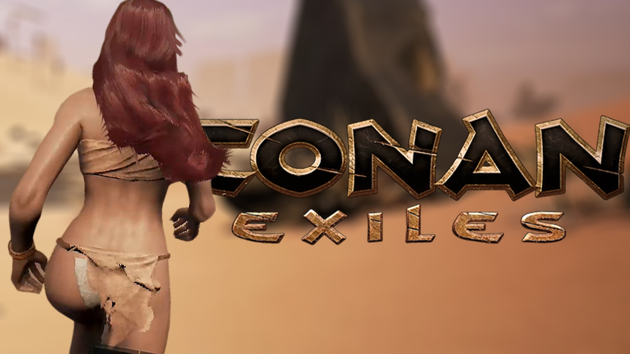 Conan Exiles naked survival cover
