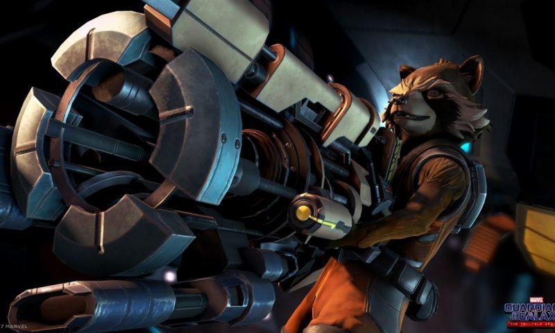 เผยตัวอย่างแรก Guardians of the Galaxy: The Telltale