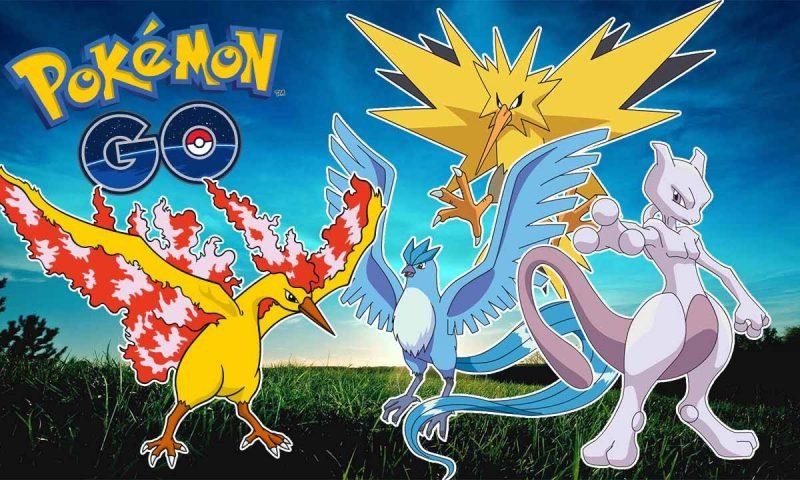 Pokémon GO อัพเดทใหญ่ โปเกม่อนในตำนานกำลังจะมา