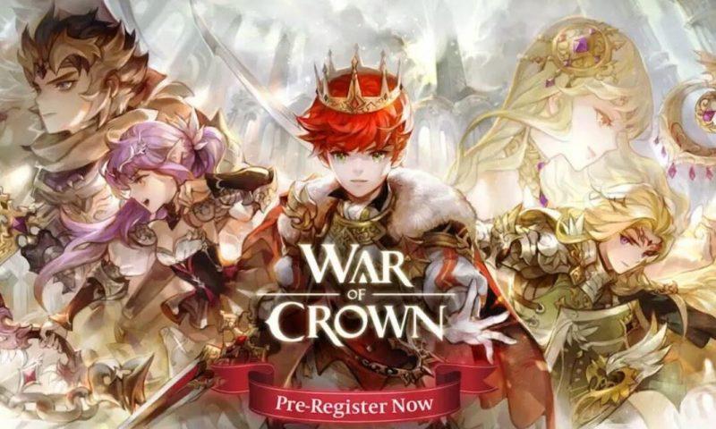 War of Crown กระแสดี GAMEVIL จัดให้ลงทะเบียนล่วงหน้าซะเลย